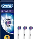 RECAMBIO CEPILLO DENTAL ELECTRICO RECARGABLE ORAL-B 3D WHITE 3 U (EB18-3)
