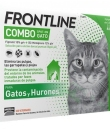 FRONTLINE COMBO GATO 60/50 MG SOLUCION SPOT-ON 3 PIPETAS 0.5 ML