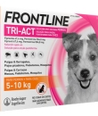 FRONTLINE TRI-ACT PERROS 5-10 KG 67.6/504.8 MG SOLUCION SPOT-ON 3 PIPETAS 1 ML