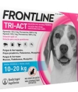 FRONTLINE TRI-ACT PERROS 10-20 KG 135.2/1009.6 MG SOLUCION SPOT-ON 3 PIPETAS 2 ML