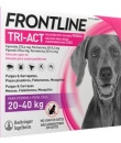 FRONTLINE TRI-ACT PERROS 20-40 KG 270.4/2019.2 MG SOLUCION SPOT-ON 3 PIPETAS 4 ML