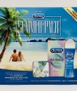 DUREX SUMMER PLAY PACK 3 UNIDADES: CONDONERA + INVISIBLE EXTRA SENSITIVO 12 UDS + LUBRICANTE ORIGINAL 50ML